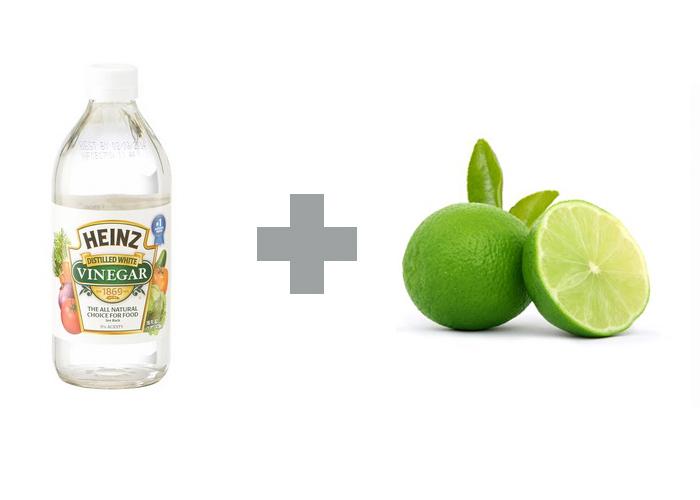 น้ำส้มสายชูกับมะนาว